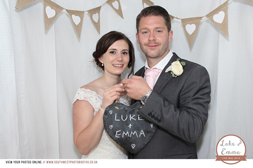 Exeter photo booth hire in devon